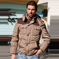 AFS JEEP down jacket,Free Shipping Winter Super Warm Man's Long Down Jacket Fashion Down Coat Winterwear White Duck Down,148