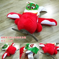 Cartoon Movies Planes 30CM Red Ned and Zed  Plush Stuffed Toy Doll Gift for boy or girl Free Shipping