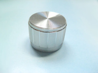 Aluminum alloy knob 23 17 cap anthocaulus potentiometer silver jewelry