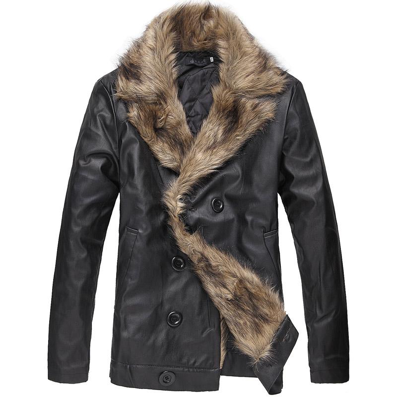 Куртка Мужская Кожа Зима С Мехом Купить