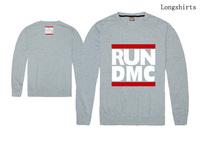 famous brand hip hop RUN DMC t shirt long sleeve men's fashion RUN DMC T-shirts Tshirt full T Tee shirts freeshipping
