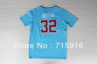 # 32 Griffin new blue short-sleeved jersey