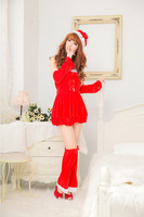 Free shipping  Sexy Lingerie Sex Dress Sleepwear Adult women's Sexy Christmas Sex Costume