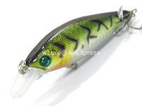 Fishing Lure Minnow Crankbait Hard Bait Fresh Water Shallow Water Bass Walleye Crappie Minnow Fishing Tackle M502X40