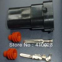 factory sale 10sets  Kit H8 H10 H11 foglight connector male socket kit