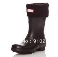 Free shipping NEW  polar fleece women men's unisex short socks,suitable for short style rainboots