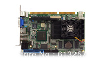 Onboard Intel Celeron M Industrial ISA half size CPU card With LAN and CF card slot