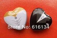 24pcs/lot Bridal Favors wedding tin gift boxes, Souvenirs favor metal boxes, Tin packaging Cans