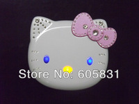 2014 Newest Hello kitty K688+ Cartoon Mobile phone for kids children Dual SIM standby Flip MIni cell phone MP3 MP4 Free Shipping