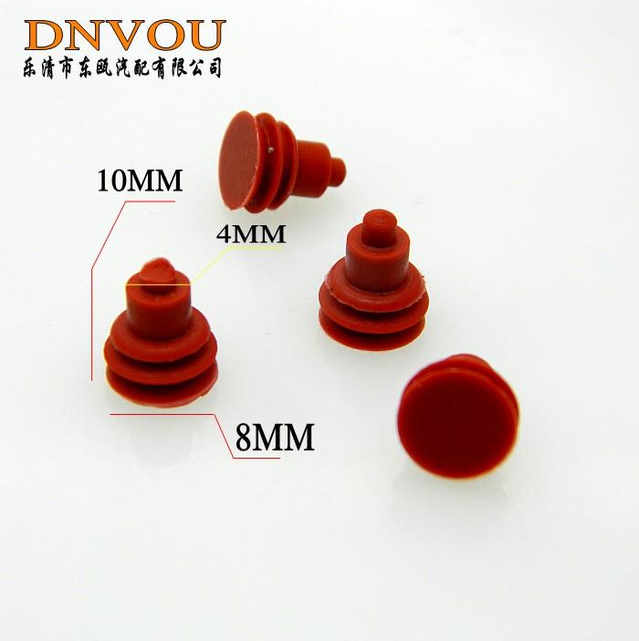 Auto seal car seal dutou silica gel waterproof circle waterproof plug waterproof plug sealed pieces(China (Mainland))