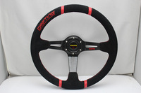 2013 hot-selling 14-inch matte leather steering wheel modified free delivery