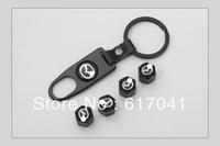 free shipping 4 Pieces/set car logo New Black High Quality For Mazda Car Wheel Tyre Tire Stem Air Valve Caps