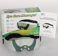 Eye Massagers battery and DC Electric both operated massager easing eye's tension