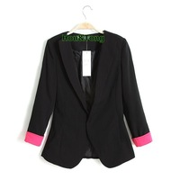 Free shipping New Women's Sexy Autumn Small Suit Jacket Coat Blazer HTXXZ-008