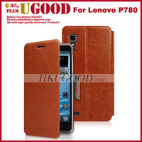 Lenovo P780 Mofi Case With High Quality and Steel inside Tough Top Grade Side-Turn Function Lenovo P780 Flip Case In Stock