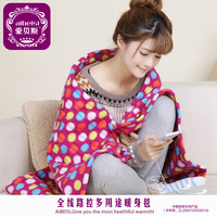 Multifunctional temperature control casual electric heating blanket wool blanket multi-purpose thickening