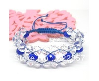 DIY crystal beads wholesale red string bracelet preparation of a wide