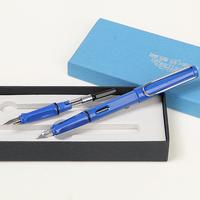 Hero 359 series double nib multicolour pen iridic gold fountain pen fountain pen