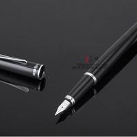 New arrival 1088 glossy black fountain pen iridic gold fountain pen shine metal fountain pen