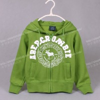 Children's clothing male big boy child baby outerwear spring and autumn fleece zipper-up hoodie female child hoodies