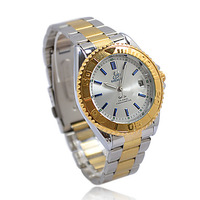 Gift Unique Golden Mechanical Auto Mens Watch-WAT10045