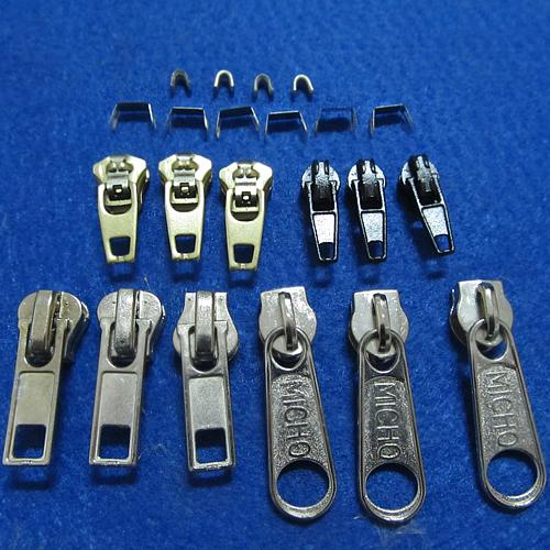 Zipper Repair Kit Stops Slider