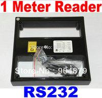 RS232 port Free shipping 1 Meter Long Range 125KHz RFID ID Card Reader Smart Card Reader RFID Card reader of Car Parking system