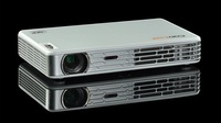 Coolux X3+ portable dlp led active shutter 3D projector full hd real 3D projector projektor beamer with VGA,HDMI,USB,TF card