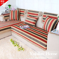 Red fashion rustic fashion brief modern sofa cushion chenille sofa cloth fabric sofa set