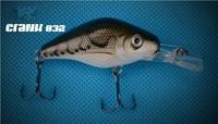fishing lures fishing bait minnow bass lure fishing tackle 10pcs/lots Free Shipping