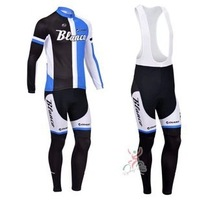 Anyone to match! New! 2013 Blanco Team  Cycling Jersey / Cycling Clothing / Long (Bib) Pants / Set-C13005