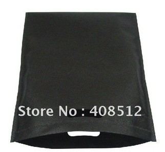 Promotion small size black non woven bag can be printed custom logo(China (Mainland))