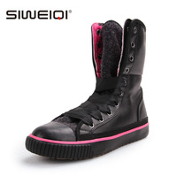 High-top shoes female thermal thickening warm plus cotton shoes cotton-padded shoes women's shoes