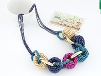 SALE!New designer necklace 2013 vintage fashion jewelery bib necklace christmas jewelery gift free shipping