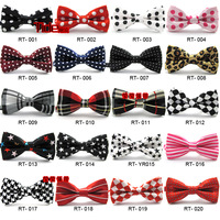 Baby dot bow tie/ child polka dot plaid stripe bow tie mix 10pcs/lot free shipping
