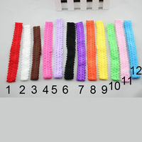 1.5cm 12 color newborn baby Girl infant  hair band diy headbands hairbands hair acessories HBB005