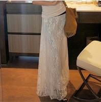 Free Shipping Women Elegant 2014  Long lace skirt,Expansion fashionable Plus size skirts for women S M L XL 2XL 3XL 4XL 5XL 6XL