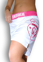 Woman MMA fighting yoga sports short