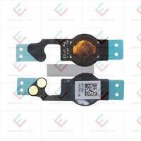 Wholesale Spare Parts Home Menu Button Flex Cable Ribbon For iPhone 5C  10pcs/lot