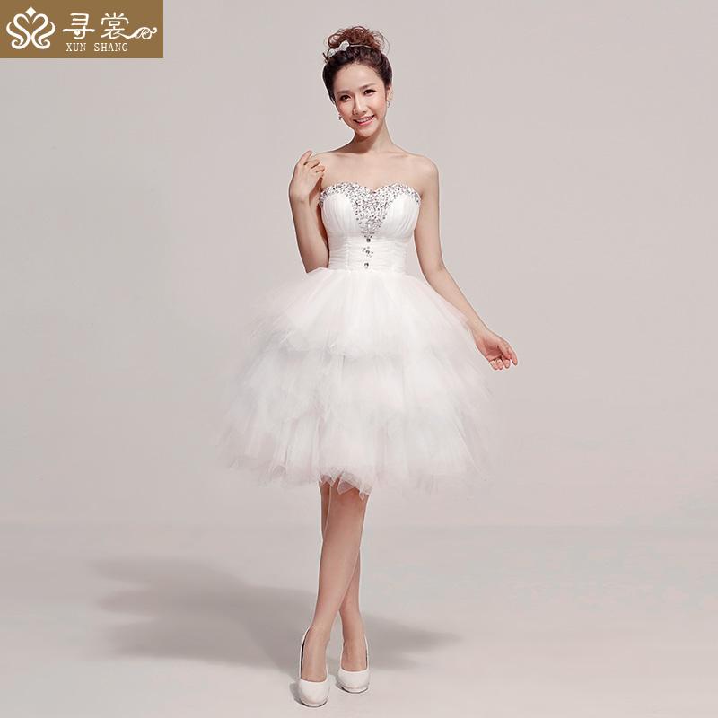 Free Shipping Custom Made Short Wedding Dress High Quality Bridal Wear Lace Plus Size Bridal