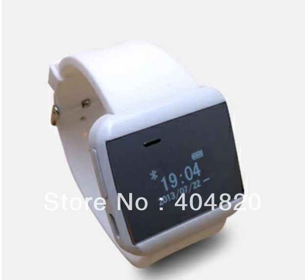 New Smart bluetooth watch For Android Cell Mobile Phone answer call SMS MP3 White Color(China (Mainland))