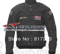 DUHAN-020 Men's Oxford Jacket Motorcycle Jacket Racing Jacket Motocross jacket (color : Black.)