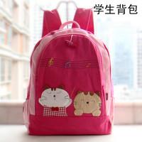 Qq cat cloth women's handbag cartoon student backpack school bag backpack