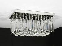 Chandelier LED K9 crystal Lamp Foyer Asile Entrance Porch Lights Small 40*20*20cm