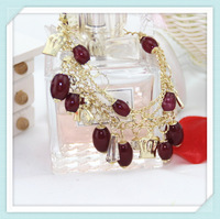 2013 Free shipping wholesale water drop chain and link bracelets jewelry for a new year gift
