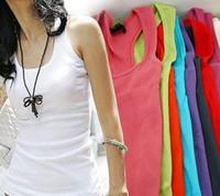 happy SZ Summer hot-selling woven cotton rib knitting women's tank Tops long design 1 piece best quality bx004