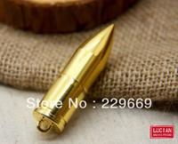 Wholesale Hot! Genuine Metal Gold Bullet Model USB 2.0 Flash Memory Stick Pen Driver, free shipping, usb flash drive 1-32GB