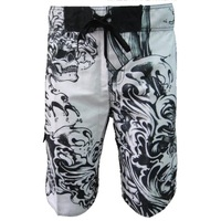 Free Shipping SKULL Shorts Boardshorts Beach Pants Swimsuit  Men