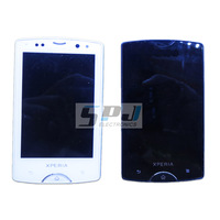for Sony Ericsson xperia mini pro sk17i LCD display with touch screen digitizer frame bezel assembly,Original,free shipping