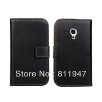For samsung S3 mini i8190  genuine leather wallet holster!